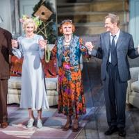 Photo Flash: Angela Lansbury and Company Celebrate BLITHE SPIRIT's Final Curtain Call in D.C.