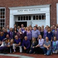 Photo Flash: Paper Mill's CAN-CAN Cast and More Take Part in Spirit Day 2014