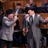 VIDEO: Jimmy & Steve Van Zandt Take on Sinatra Duet on TONIGHT