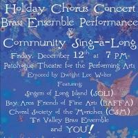 PTPA Hosts Holiday Chorus Concert Bras Ensemble Performance & Community Sing-A-Long Tonight