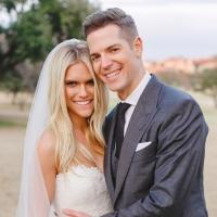 Photo: First Official Wedding Pic of Jason Kennedy and Lauren Scruggs!