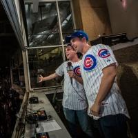 Photo Flash: BOOK OF MORMON's Nic Rouleau and Ben Platt Perform 7th Inning Stretch at Wrigley Field