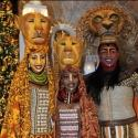 Photo Flash: THE LION KING's Alton Fitzgerald White & More at Empire State Building for Show's 15th Anniversary