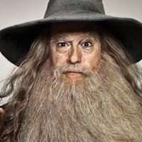 Photo Flash: Stephen Colbert Channels HOBBIT Characters for EW Cover