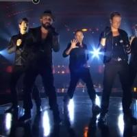 VIDEO: The Backstreet Boys Perform on AMERICA'S GOT TALENT