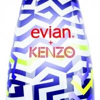 KENZO Designs Limited Edition Evian Bottle