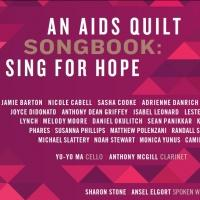 All-Star 'AIDS QUILT SONGBOOK' CD Features Sharon Stone, Ansel Elgort, Yo-Yo Ma and More