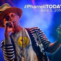Pharrell Williams, Sara Bareilles Perform Live on NBC's TODAY
