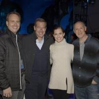 Photo: Proud Papa Brian Williams & Daughter Allison Celebrate at PETER PAN LIVE After Party