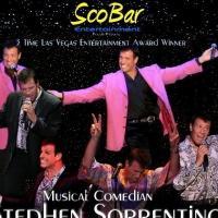 Award-Winning Musical Comedian Stephen Sorrentino to Play Iridium, 1/13