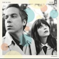 Zooey Deschanel's She & Him Release VOLUME 3 Today