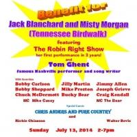 Blanchard & Morgan Benefit Show - Robin Right Comes Out of Retirement!
