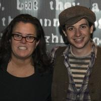 Photo Flash: Rosie O'Donnell Visits NEWSIES