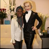 Photo Flash: Lynn Wyatt Visits Tony Winner Cicely Tyson at THE TRIP TO BOUNTIFUL