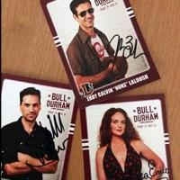 Win An Autographed Baseball Card Set From the New BULL DURHAM Musical
