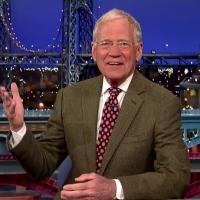 DAVID LETTERMAN to Sign Off as CBS Late Night Host 5/20