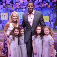 Photo Flash: Four Young Stars of MATILDA Visit 'Live'