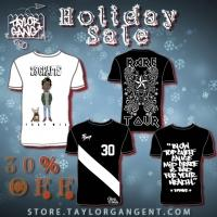 TAYLOR GANG Announce Holiday Discount on Exclusive Holiday Apparel