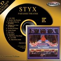 Styx Album PARADISE THEATER Set for Limited Numbered Hybrid SACD