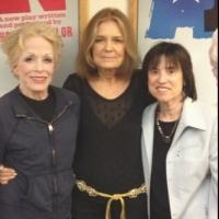 Photo Flash Exclusive: Gloria Steinem Visits Holland Taylor at ANN!