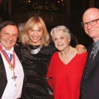 Photo Exclusive: Angela Lansbury Honored in Special Cabaret at Cafe de Paris