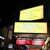 Up on the Marquee: Closing Night at LOVE LETTERS