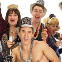 Photo Flash: Cast of 50 SHADES! THE MUSICAL PARODY Celebrates New Year's