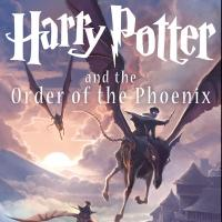 Photo Flash: Scholastic Unveils New HARRY POTTER AND THE ORDER OF THE PHOENIX Cover by Kazu Kibuishi!