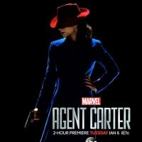 First Look - New Poster Art Revealed for ABC's MARVEL'S AGENT CARTER