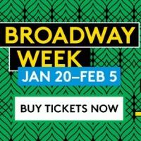 Get 2-for-1 Tickets with Broadway Week to over 20 Great Broadway Shows