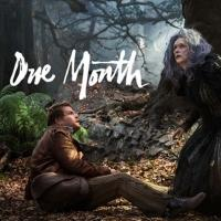 New 'One Month' INTO THE WOODS Social Media Image