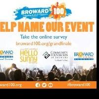 Broward100 Invites Community Members to Name Grand Finale Event