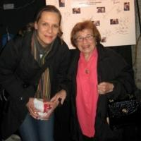 Photo Flash: Kate Burton and Dr. Ruth Visit WHO'S AFRAID OF VIRGINIA WOOLF?