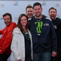 VIDEO: Chris Pratt, Chris Evans & Jimmy Fallon Photobomb Super Bowl Fans