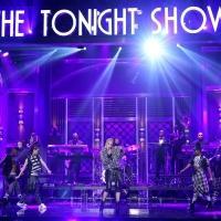 VIDEO: Gwen Stefani Sings Medley of Hit Singles on TONIGHT SHOW