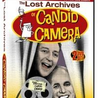THE LOST ARCHIVES OF CANDID CAMERA Released in Stores Today
