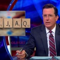 VIDEO: COLBERT REPORT Challenges New Words Added to Scrabble Dictionary