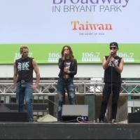 BWW TV: ROCK OF AGES Cast Rocks Out in Bryant Park!