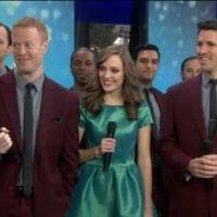 VIDEO: Laura Osnes and Straight No Chaser Sing 'Text Me a Merry Christmas' on TODAY
