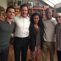 Photo: WHITE COLLAR's Matt Bomer Shares Start of Season 6 Filming on Twitter