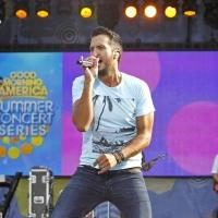 Photo Flash: Luke Bryan Rocks Out on GMA's Summer Concert Series