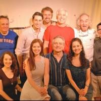 Photo Flash: BEND IN THE ROAD's Martin Vidnovic and Alison Woods Visit THE FANTASTICKS