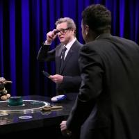 VIDEO: Colin Firth, Jack McBrayer Play Catchphrase on TONIGHT SHOW