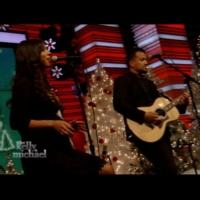 VIDEO: JOHNNYSWIM Performs 'Christmas Waltz' on LIVE WITH KELLY AND MICHAEL