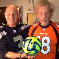 Twitter Watch: Patrick Stewart & Ian McKellen Gear Up for Super Bowl Sunday