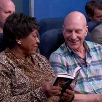 VIDEO: Sir Patrick Stewart Acts Out 'Most Annoying People on the Plane' on KIMMEL