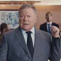 First Look - William Shatner & Kaley Cuoco-Sweeting in Super Bowl Priceline.com Spot