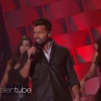 VIDEO: Ricky Martin Lights Up the ELLEN Set with 'Adios' Performance!