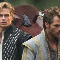 Chris Pine & Billy Magnussen Film INTO THE WOODS; Week 4 Round-Up With Depp, Etc.