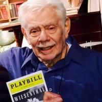 Photo Flash: Jerry Stiller Visits WIESENTHAL Off-Broadway